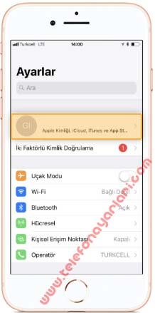 iPhone 5C iCloud Hesabı Silme