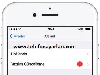 iPhone 11 Yazılım Güncelleme