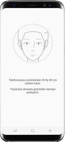 Samsung Galaxy A21s yüz tanıma