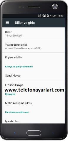 Turkcell T60 Dil Değiştirme