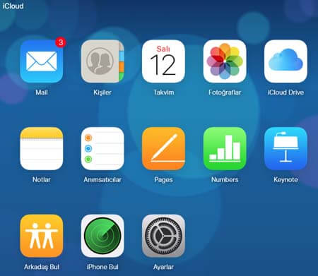 iPhone 5S iCloud Hesabı Ekleme