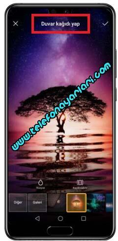 Huawei P30 Ekran Resmi Değiştirme