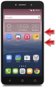 Alcatel Idol 5 Ekran Görüntüsü Alma