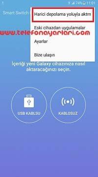 Samsung Galaxy A12 Telefon Yedekleme