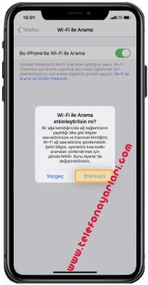 iPhone 11 Sesli ve Video Arama İşlemi